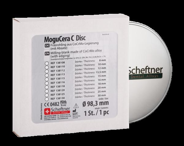 fräsrohling cocrmo mogucera c disc 98,3