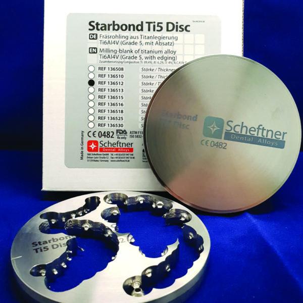 fräsrohling milling blank titan legierung scheftner dental alloys starbond