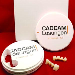 fräsrohling ronde zirkon aidite cadcamlösungen ccl transluzent 10mm 14mm 18mm 22mm 25mm