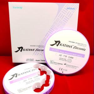 fräsrohling zirconia zirkon katana stml super tranlucent multi layer multilayer cadcam lösungen 98 5mm
