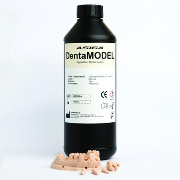 asiga dental modell dentamodel digital 3d druck resin modelherstellung kunststoff