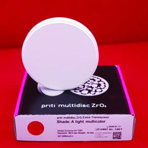 fräsrohling ronde zirkon pritidenta priti multilayer multicolor extratranslucent extratransluzent 98 5mm