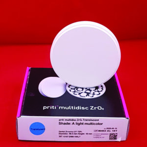 fräsrohling ronde zirkon pritidenta priti multilayer multicolor translucent transluzent 98 5mm