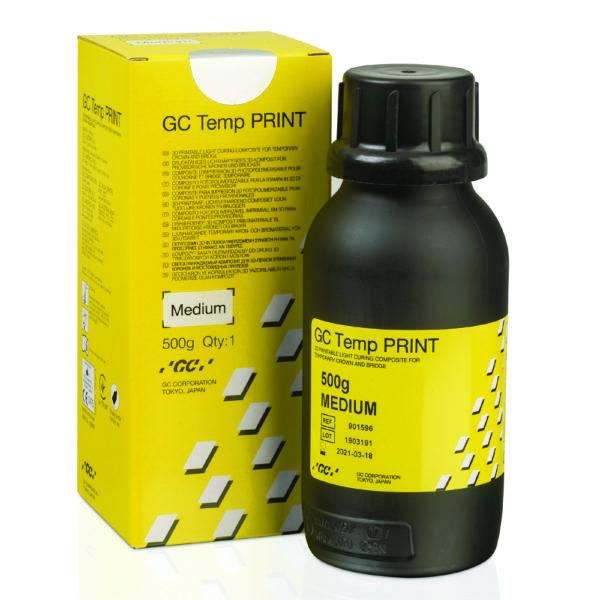 gc temp print medium resin provisorium 3d druck asiga