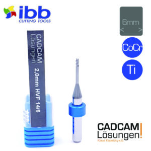 ibb 2.0mm 6mm milling tool bullnose torus fräser hvf hochvorschubfräser 14mm titan cocr