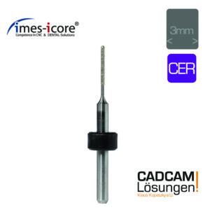 imes icore 1.0mm 3mm radius grinding tool schleifkörper glasskeramik cer t22