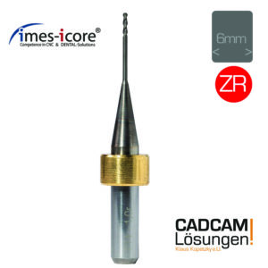 imes icore 1,0mm 6mm radius fräser milling tool diamantiert zr t14