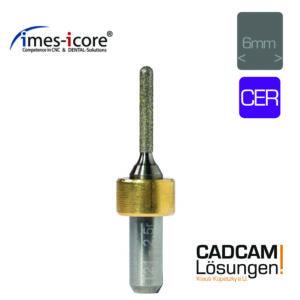 imes icore 2.5mm 6mm grinding tool schleifkörper glaskeramik cer t21