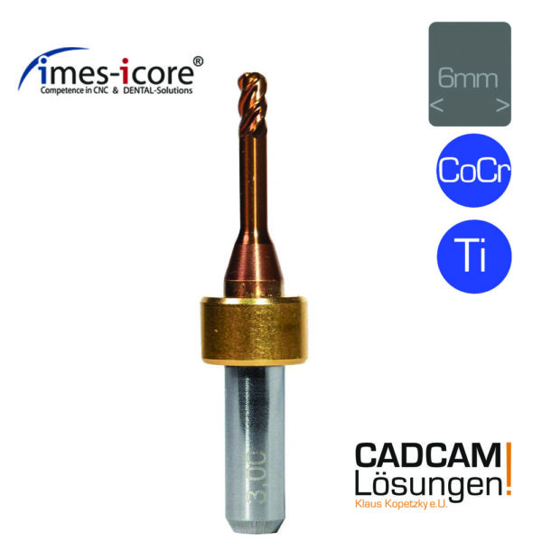 imes icore 3.0mm 6mm milling tool vierschneider quattro speed titan cocr t61