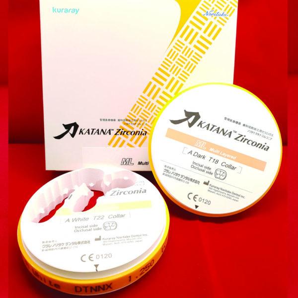 fräsrohling zirconia zirkon katana ml ausverkauf multi layer multilayer cadcam lösungen 98 5mm