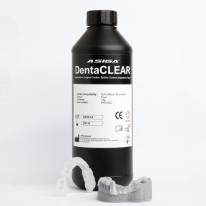 asiga dentaclear 3d druck print aufbiss schienen bohrschablonen cadcam loesungen