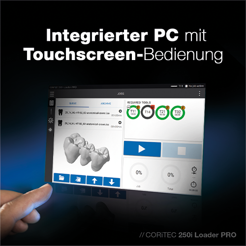 touchscreen de