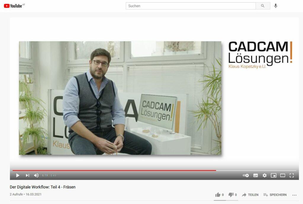 youtube kanal cadcam lösungen